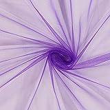Fabulous Fabrics Tüll lila, Uni, 150cm breit – zum