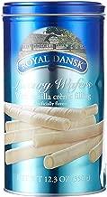 Royal Dansk Luxruy Wafers Vanilla Creme Filled 12.3oz Canister