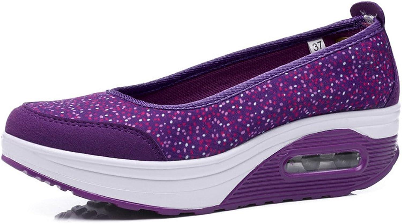 PRETTYHOMEL Women Casual Platform shoes Fashion High Heels shoes Woman Wedges shoes Loafers