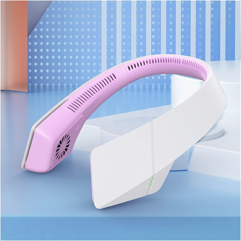 Lingwu Portable Reservation Neck Fan USBRechargeable Personal 3 Bargain sale Spe Wind