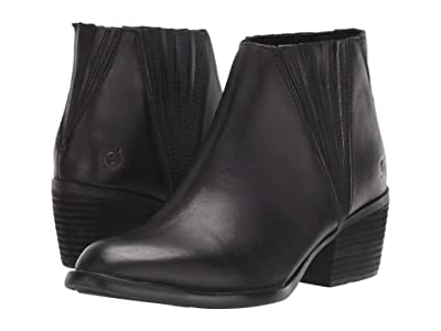 Born Sacramento (Black Full Grain Leather) Women