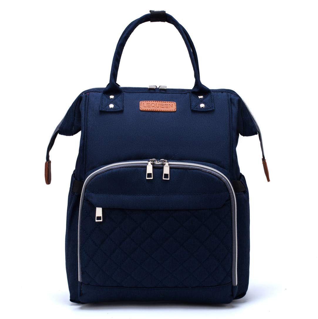 Nappy Bags Handbags Multi-Function Diaper Bag for Baby Care Travel Backpack Waterproof Large Capacity Navy