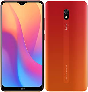 "Xiaomi Redmi 8A  Smartphone, 6.2"", Dual SIM, 32GB, 2GB RAM - Sunset Red"