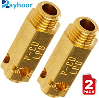 Rayhoor 383EEL3002D Dryer LP Gas Conversion Kit Replacement Part for LG Kenmore Dryer- Replaces DLGX5102V, DLGX5102W, RN1317AS, RN1317TS (Pack of 2)