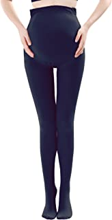 Canwen Klaen Women Stretch Maternity Leggings Support Stockings 320D