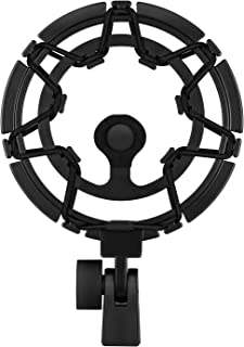 Moukey Shock Mount Compatible for Blue Yeti/Yeti Pro/Yeticaster/Yeti X/Snowball iCE Mic and other Large Microphones MMs-7-Black