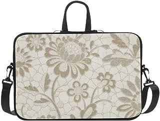Fine Decor Villa Di Carta Large Pattern Gold Wallp Pattern Briefcase Laptop Bag Messenger Shoulder Work Bag Crossbody Hand...