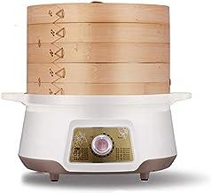 HHTD Multi-Fonction Steamer 2 Couche Épaissement Chaud Pot Chaud Steamer Steamer Steamer Acier Inoxydable Convient à la Cu...
