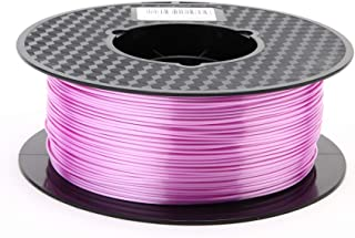 Kehuashina Silk Pla Filament for 3D Printer and Pens Silk Light Purple 1kg Spool 1.75mm Diameter Filament 3D Printer Acces...