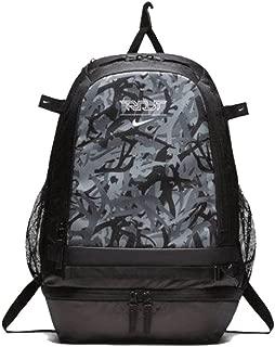 Nike Trout Vapor Baseball Athletic Training Backpack, Black/Black-White