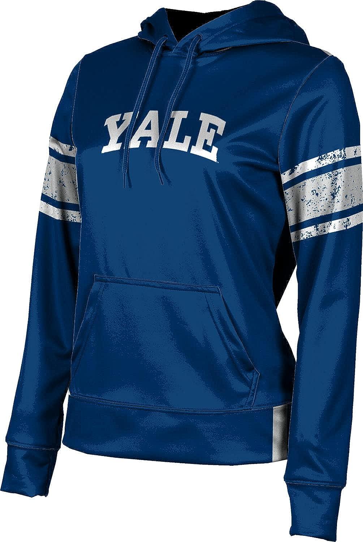 Yale University Girls' Pullover Hoodie, School Spirit Sweatshirt (End Zone)