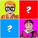 memory training game: supereroi, un semplice gioco di logica gratuito per allenare il tuo cervello e migliorare la memoria!