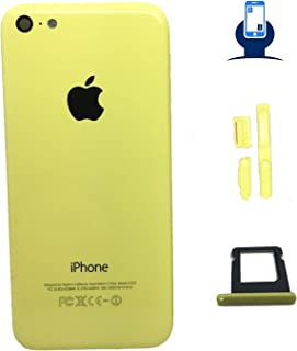 Back Housing Replacement Compatible with iPhone 5C (Yellow)