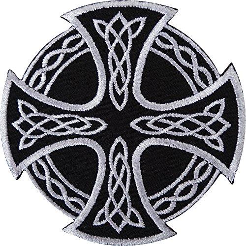 Celta nudo de Malta Cruz de Hierro bordado/coser en parche insignia camisa de bolsa