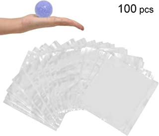 LazyMe Cellophane Shrink Bags,6x6 inch,Shrink Wrap Bags Small, for Handmade Products, Clear (100)