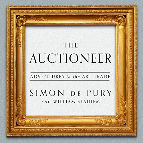 Auctioneer audiobook cover art