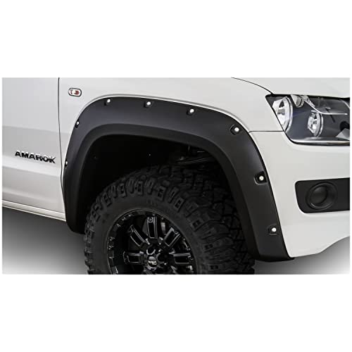 Bushwacker 171905-02 VW Amarok Pocket Style Fender Flares, 4pc Set