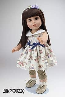 NPK Reborn Dolls, NPK Wholesale 45cm Soft Silicone Vinyl Baby NPK Reborn Dolls Adorable Handmade Kids Princess Toys Children bonecas bjd Doll Reborn