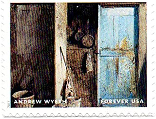 USA Postage Stamp Single 2017 Andrew Wyeth Painting Issue Forever (49 Cent) Scott #5212D