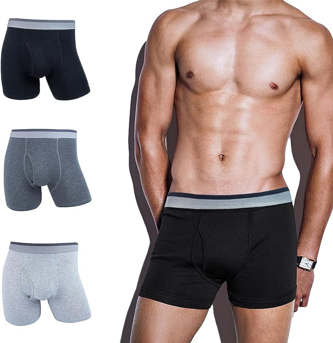 Archneat Boxer Briefs for Men Boston Mall Pack cheap with Men's Cotton Underwear F