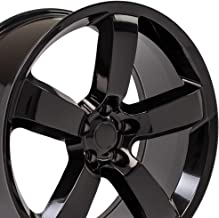 OE Wheels 20 Inch Fits Dodge Challenger Charger SRT8 Magnum Chrysler 300 SRT8 DG04 Gloss Black 20x9 Rim