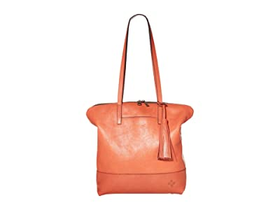 Patricia Nash Rochelle Satchel (Burnt Coral) Bags
