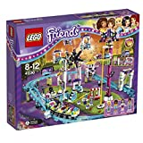 LEGO Friends - Les montagnes russes du parc d'attractions - 41130 - Jeu de Construction