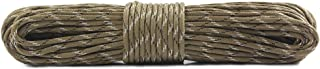 Survival Paracord Parachute Fire Cord Survival Cord Fire Paracord Tinder Fire Starter/PE Fishing Line/Cotton Thread 380LB Commercial Grade