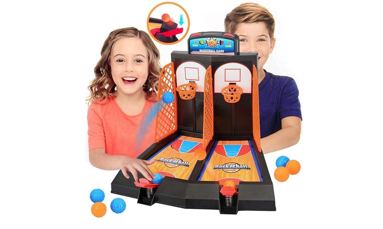 GuGio Basketball Shooting Game, 2-Player Desktop Table Basketbal