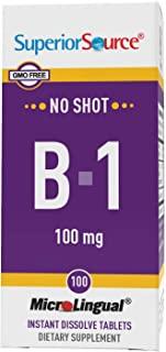 Superior Source Vitamin B1 100mg. (100 Tablets)