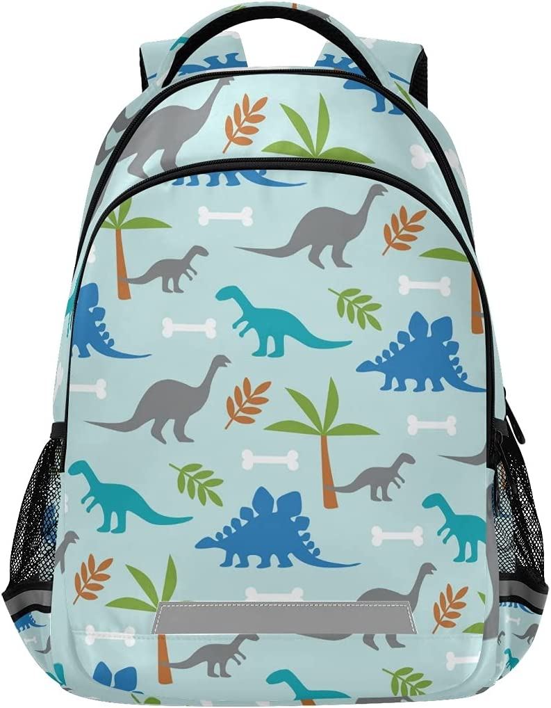 Manufacturer regenerated product Special Campaign ALAZA Dinosaur Book Bag Schoolbag for Boys Midd Girls Elementary