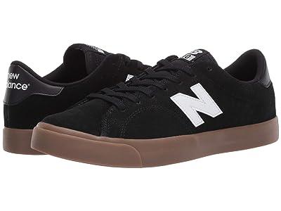 New Balance Numeric AM210 (Black/Gum 1) Skate Shoes