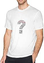 WYeter August Alsina Why I Do It Men's Comfort Tshirt White