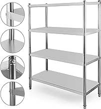 stainless steel over shelf