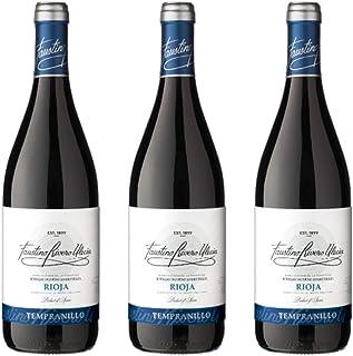 Faustino Rivero Vino Tinto  3 botellas x 750ml - total: 2250 ml