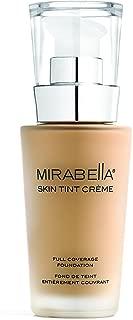 Mirabella Skin Tint Crème Full Coverage Liquid Mineral Foundation - III W, 30ml/1.0 fl.oz