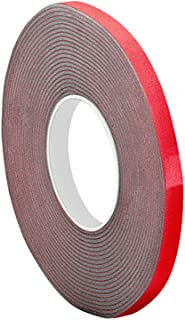 3M VHB Tape 4611, 0.25 in width x 5 yd length (Pack of 5)