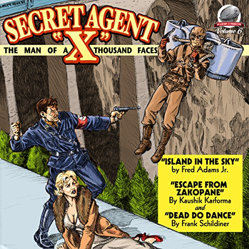 Secret Agent X audiobook cover art
