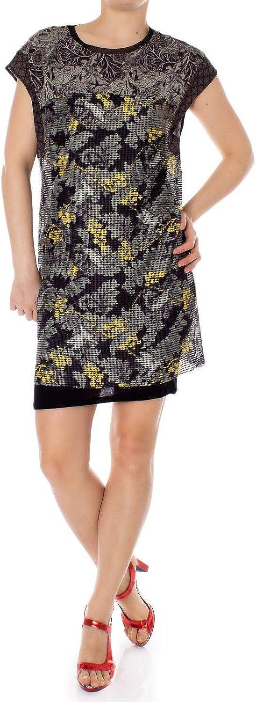 Desigual Women's 19SWVKA6BLACK Black Polyester Dress