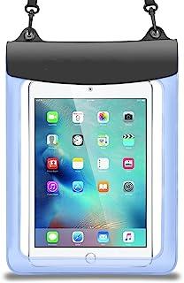 جراب حقيبة بريميوم أزرق مقاوم للماء لجهاز iPad Pro 10.5 / Huawei ميدياباد M3 Lite 10.1 / Lenovo Tab 4 10 Plus / New Yoga T...