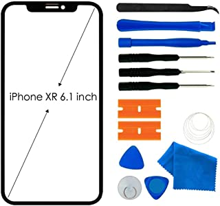 Original iPhone XR Screen Replacement, Front Outer Lens Glass Screen Replacement Repair Kit for Apple iPhone XR Series