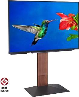 【グッドデザイン賞受賞】EQUALS イコールズ WALL[ウォール] 壁寄せテレビスタンド V3 ハイタイプ 32~80V対応 ウォールナット
