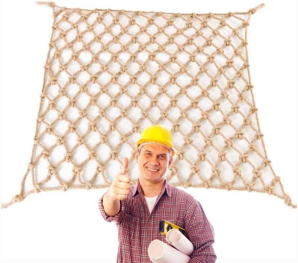 HStuiche Safety New Ranking TOP9 item Netting Outdoor Rope Jute Net Hemp N Decorative