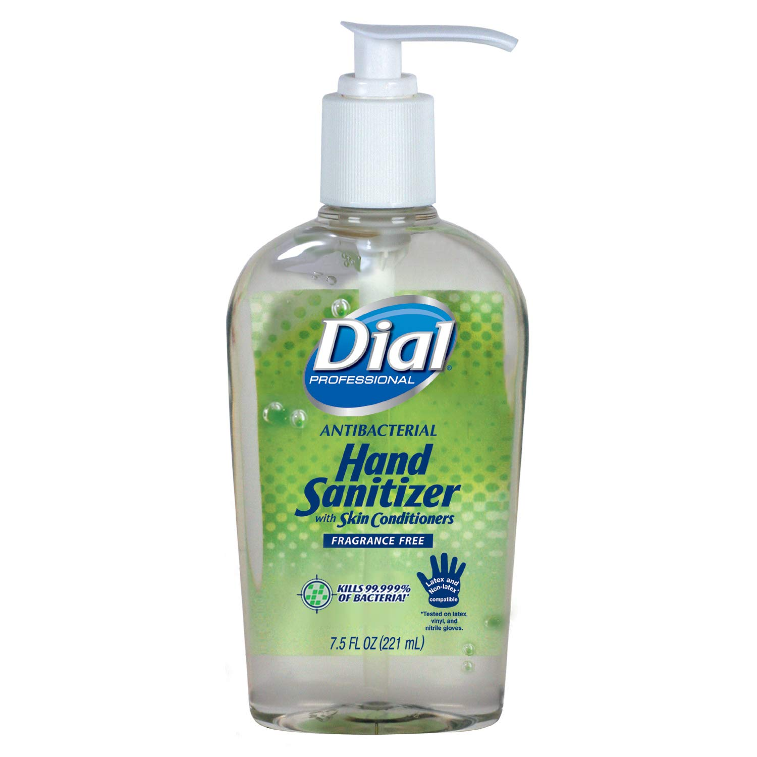 Dial Professional Antibacterial Hand Albuquerque Mall Sanitizer Skin with Ranking TOP16 Gel Con