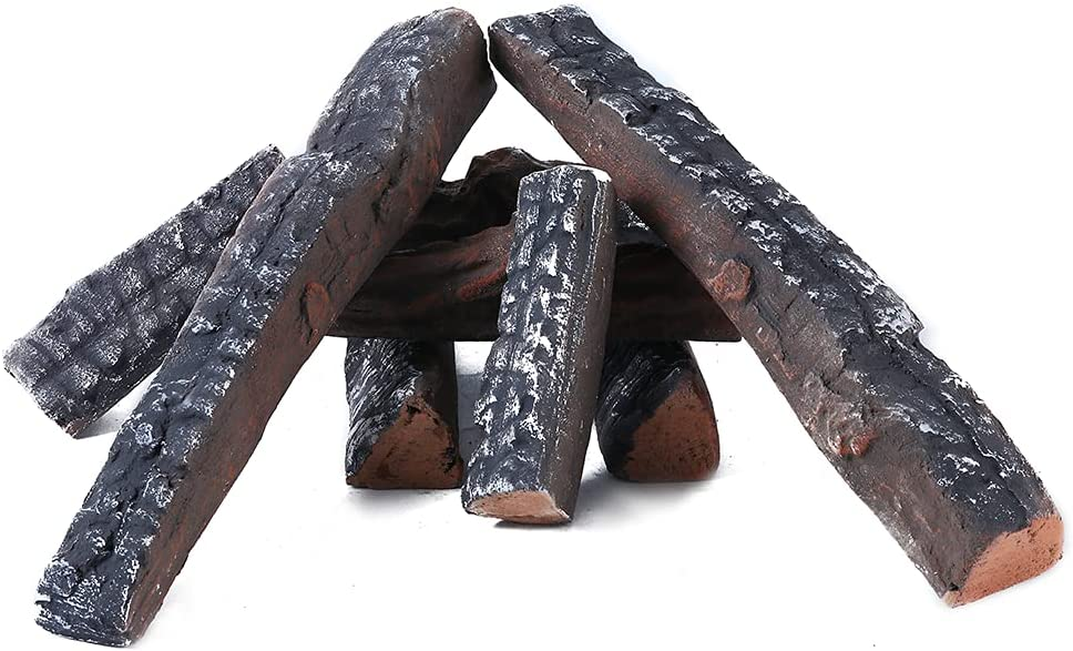 Gas Fireplace Direct sale of manufacturer unisex Logs Set Ceramic Fireplaces Use Wood in Logs.