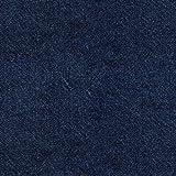 Softshell Stoff mit Denim Optik auf Blau als Meterware zum