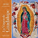 La Virgen de Guadalupe 2021 12 x 12 Inch Monthly Square Wall Calendar with Foil Stamped Cover, Virgin of Guadalupe Mexico City (English and Spanish Edition)