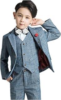 フォーマル スーツ 子供タキシード キッズ ベスト 3点セット 男の子