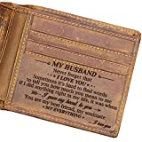 Doptika Husband Engraved Bifold Wallet - You Are My Everything - Best Birthday,...