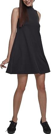 Urban Classics Ladies A-Line Turtleneck Dress Vestito Donna